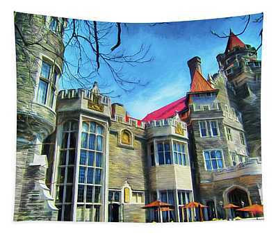 Casa Loma Series 2 Painted Y1 Tapestry