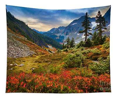 Cascade Pass Fall Tapestry