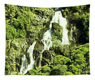 Cascading Falls Tapestry