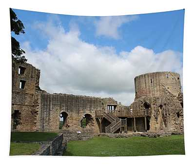 Castle Ruins Tapestry