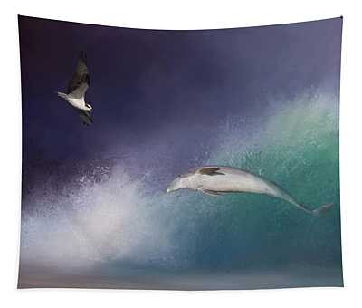 Catch A Wave Tapestry