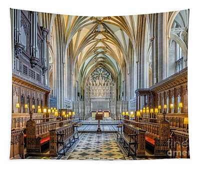 Cathedral Aisle Tapestry