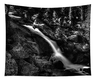 Cathedral Falls From The Tioga Pass Road Tapestry