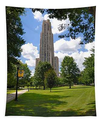 Cathedral Of Learning University Of Pittsburgh Tapestry