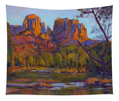 Cathedral Rock 2 Tapestry
