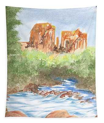 Cathedral Rock 2,  Sedona, Az. Tapestry