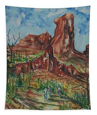 Hiking Cathedral Rock,  Sedona, Az. Tapestry