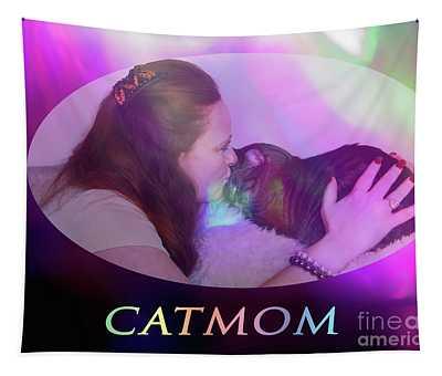 Catmom Tapestry