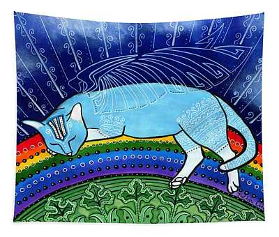 Cats Sleep Anywhere Tapestry