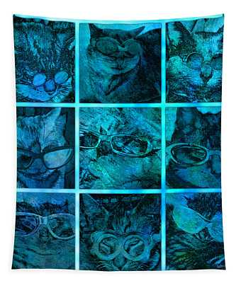 Cattitudes Tapestry