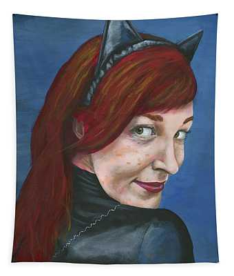 Catwoman Tapestry