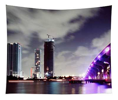 Causeway Bridge Skyline Tapestry
