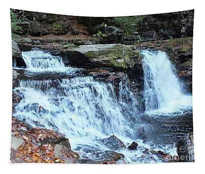 Cayuga Falls - Ricketts Glen Tapestry