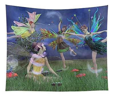 Celebration Of Night Alice And Oz Tapestry