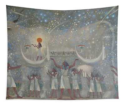 Celestial Cow Tapestry