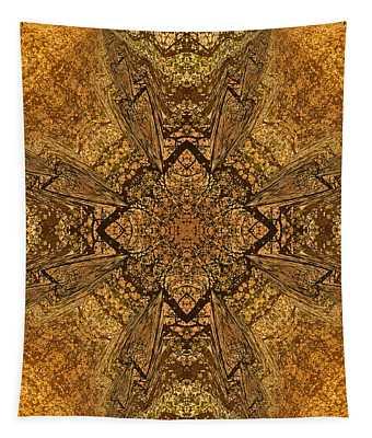 Celtic Mandala Abstract Tapestry