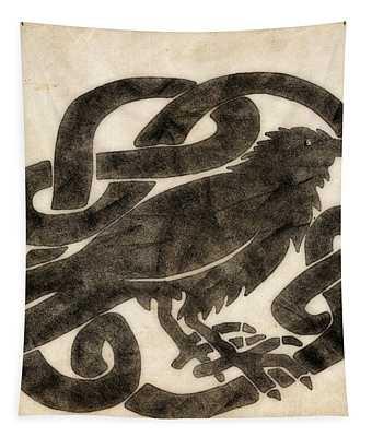 Celtic Raven Knot Tapestry