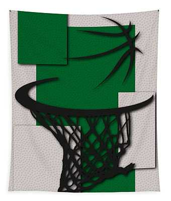 Celtics Hoop Tapestry