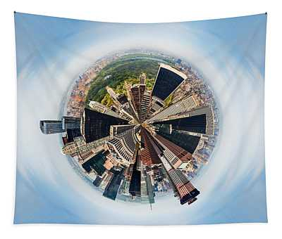 Eye Of New York Tapestry