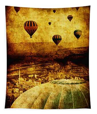 Parmi Photographs Wall Tapestries