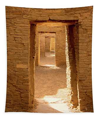 Chaco Ancient Doors   Tapestry