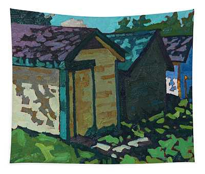 Chaffey Boat Houses Tapestry