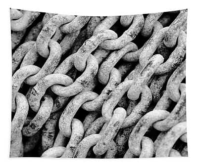 Chain Links Tapestry