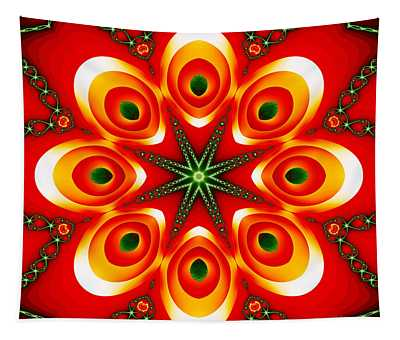Chained Sunburst Tapestry