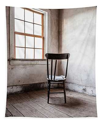 Chair By The Window Grafton Ghost Town Tapestry