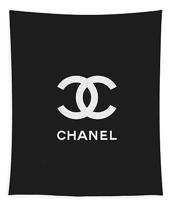 Chanel - Black And White 03 - Lifestyle And Fashion Tapestry