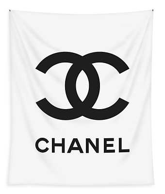 Chanel - Black And White 04 - Lifestyle And Fashion Tapestry