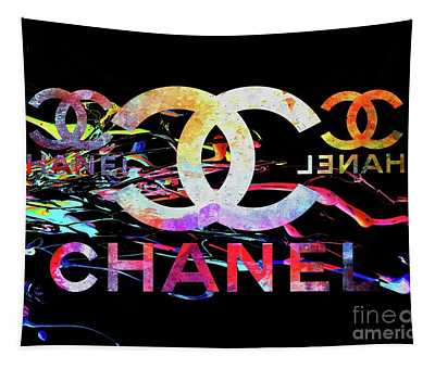 Chanel Black Tapestry