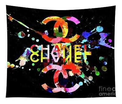 Chanel Blacky Black Tapestry