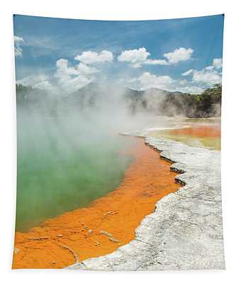 Champagne Pool Tapestry