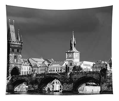 Charles Bridge Prague Czech Republic Tapestry