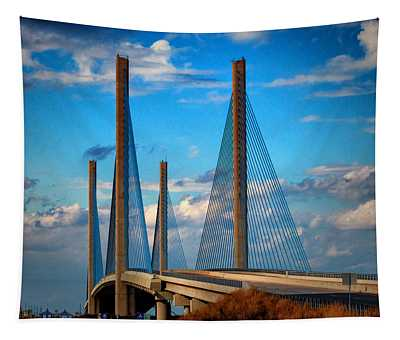 Charles W Cullen Bridge South Approach Tapestry