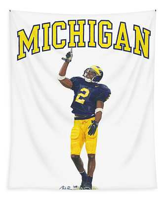 Charles Woodson Tapestry