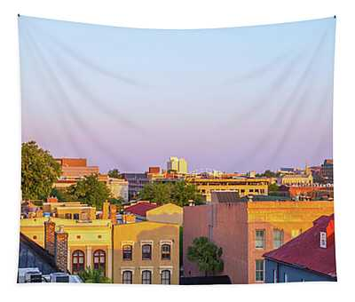 Charleston Glows Tapestry