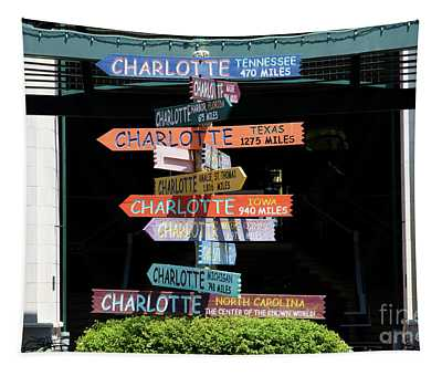 Charlotte Signs Tapestry