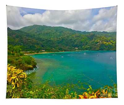 Charlotteville View  Tapestry