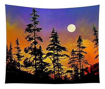 Chasing The Moon Tapestry