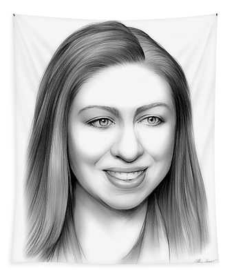 Chelsea Clinton Tapestry