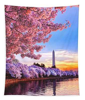 Cherry Blossom Festival  Tapestry
