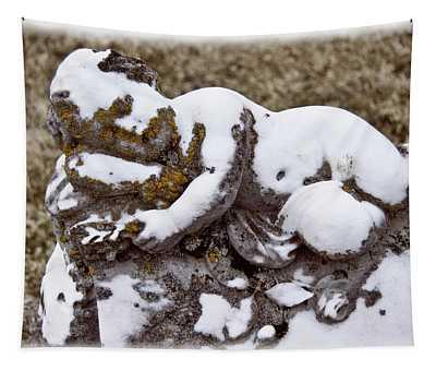 Cherub Stone Tapestry