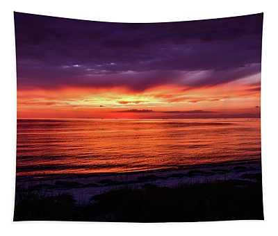Chesapeake Bay Sunset Tapestry