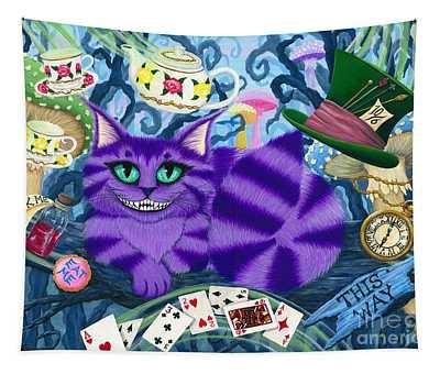 Cheshire Cat - Alice In Wonderland Tapestry