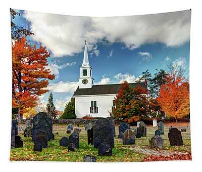 Chester Village Cemetery In Autumn Tapestry