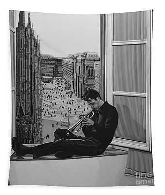 Chet Baker Tapestry
