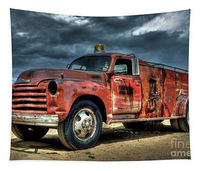1948 Chevrolet Fire Truck Tapestry