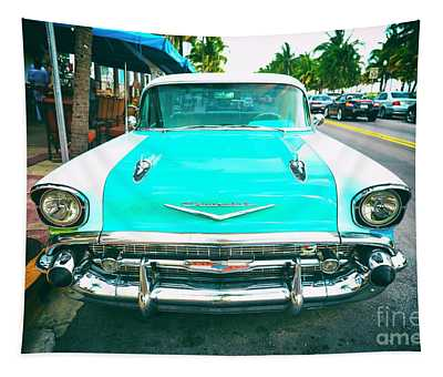 Chevy Bel Air South Beach Tapestry